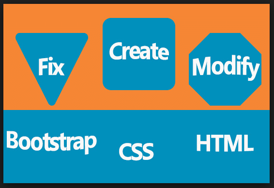 HTML, CSS and bootstrap training