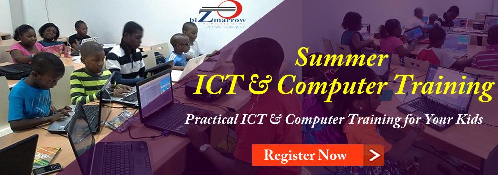 Summer ICT and computer training Gwarinpa abuja Nigeria.