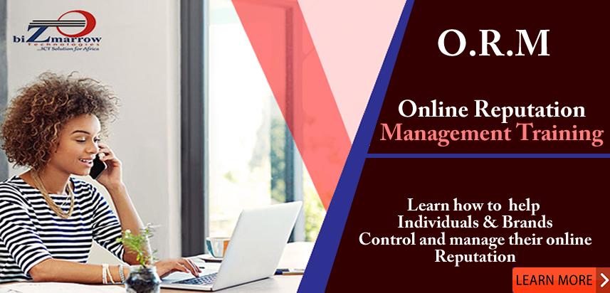 online reputation management training in abuja -Bizmarrow