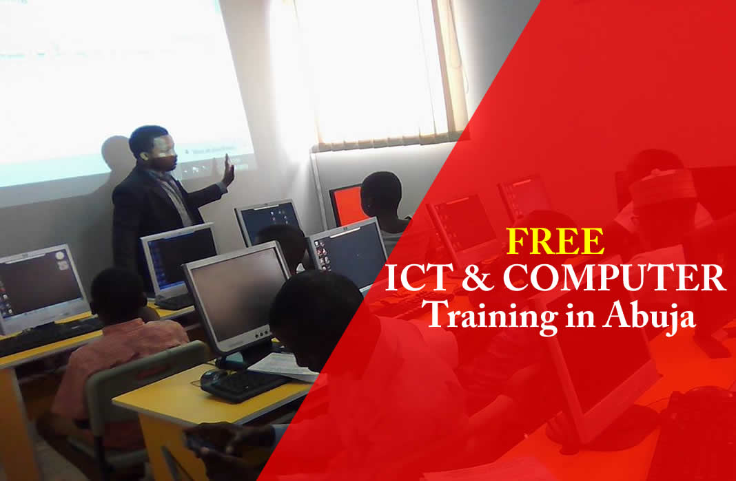 free ICT and computer training IN ABUJA