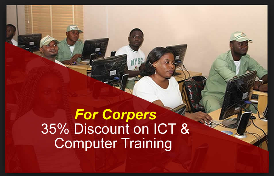 ICT and computer training for Corpers in Abuja Nigeria