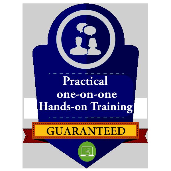 HANDS ON TRAINING GUARANTEED