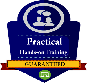 HANDS ON TRAINING GUARANTEED no one on one SIDE BAR