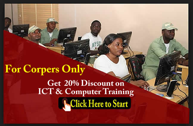 ICT and computer training for Corpers in Abuja northing Nigeria