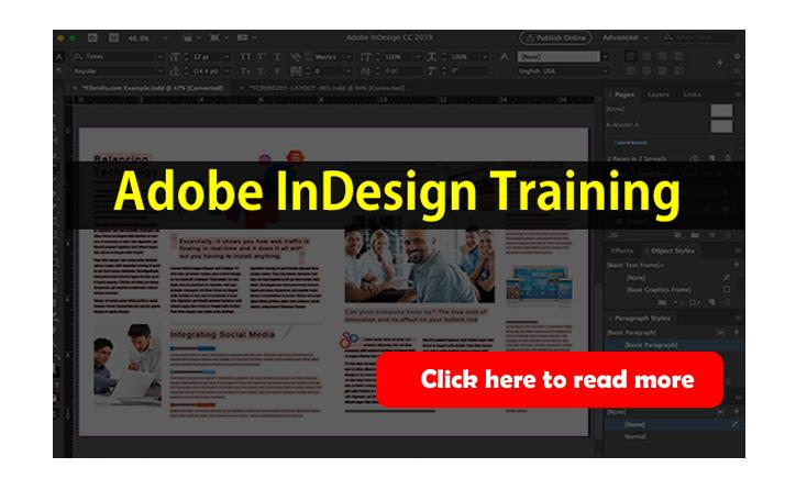 Adobe indesign training in Abuja Nigeria