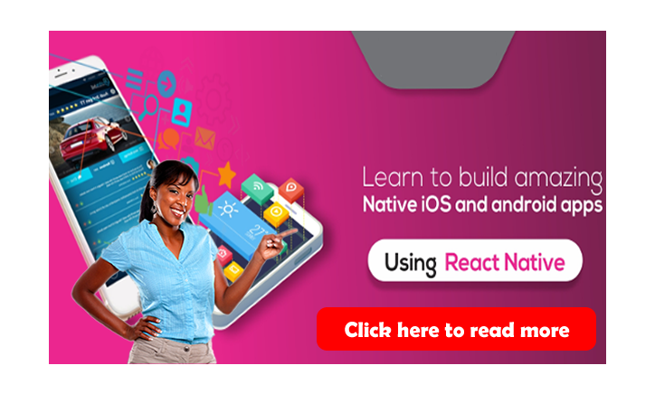 React Native Training Multiplatform Mobile App Development training Abuja Nigeria