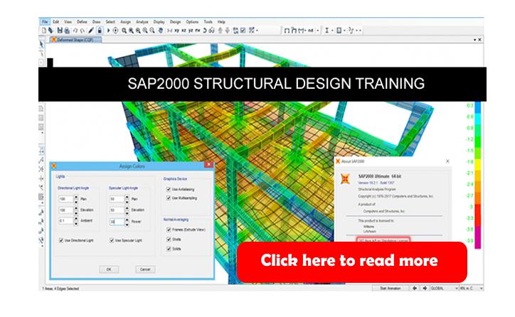 SAP2000 Structural Design Training in Abuja Nigeria