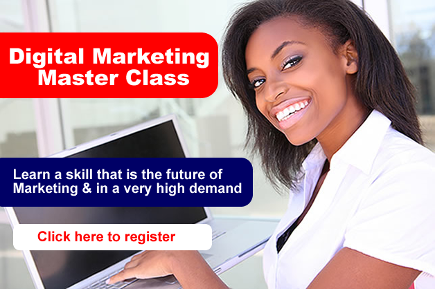 Digital Marketing Masterclass: Using The Internet To Grow Businesses, Build A Personal Brand And Get the Job You Want