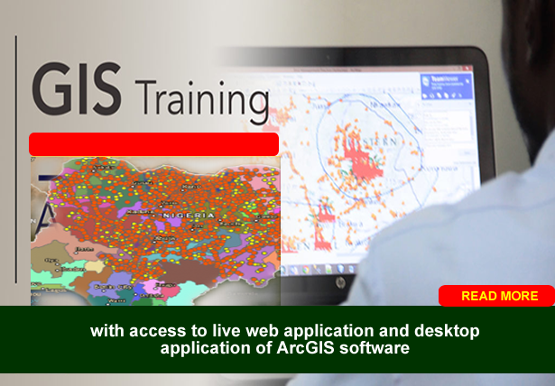 GIS AND ARCGIS TRAINING-GEOGRAPHICAL INFORMATION SYSTEMS TRAINING IN ABUJA NIGERIA