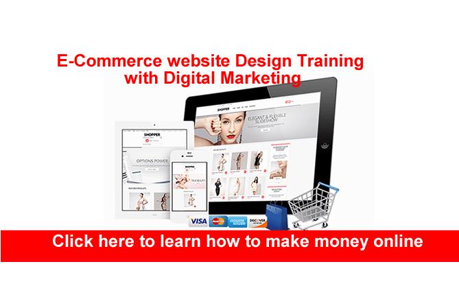 Ecommerce website training in Abuja Nigeria