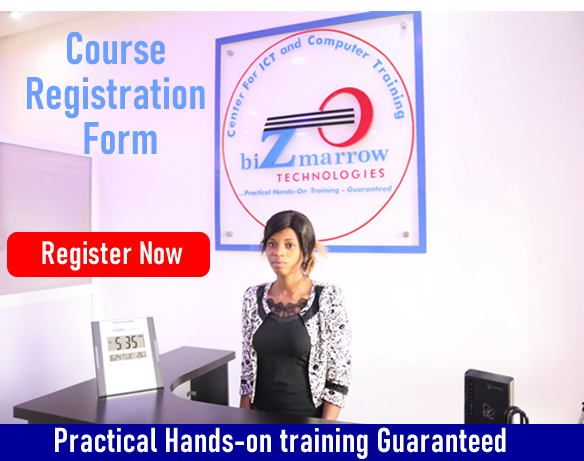 ICT and Computer training Registration form