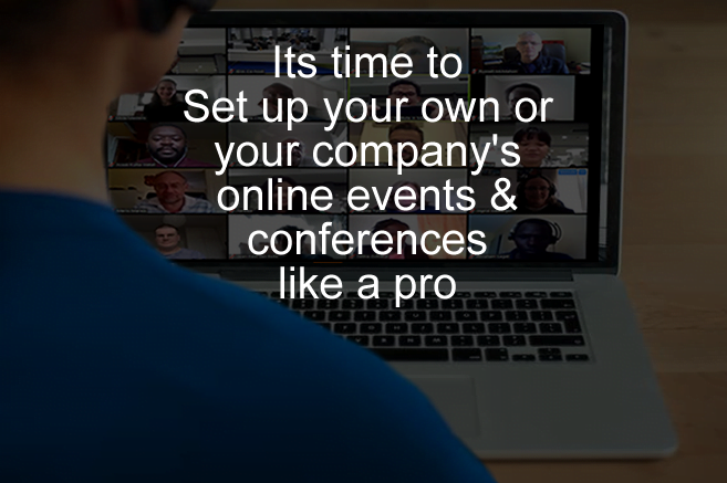 How to setup and manage online events, conference and webinars in Nigeria