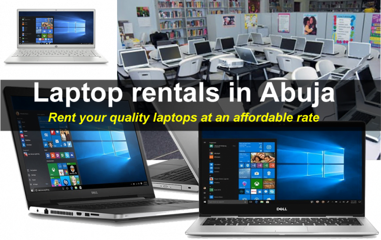 Laptop Computer for Rent in Abuja Nigeria