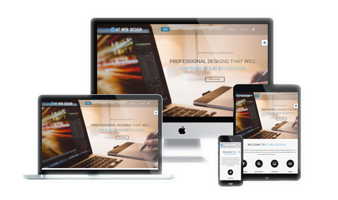 Professional website for small businesses in Nigeria