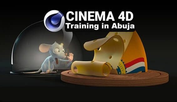 3d modeling and animation training using Cinema 4D