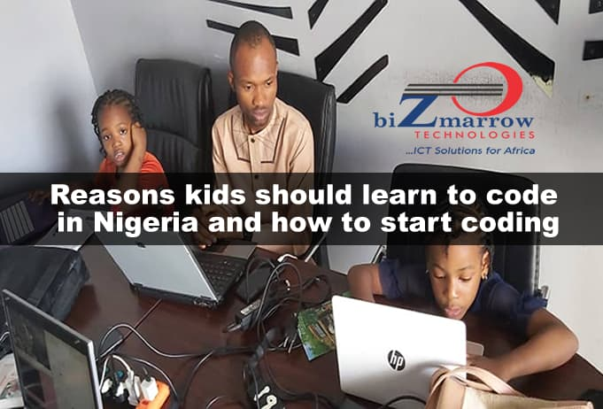Reasons kids should learn to code in Nigeria and how to start coding