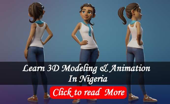 blender 3d Animation training in Abuja NIgeria -Bizmarrow