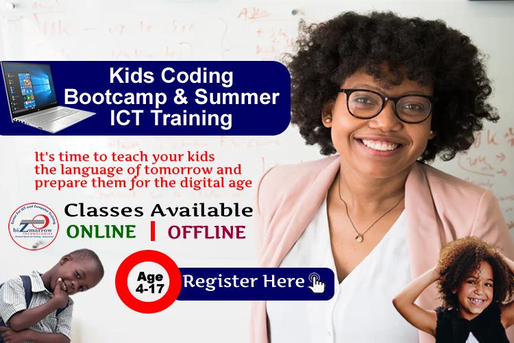 coding classes for kids abuja Nigeria